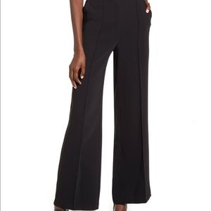 Topshop wide leg high waisted trouser with pockets